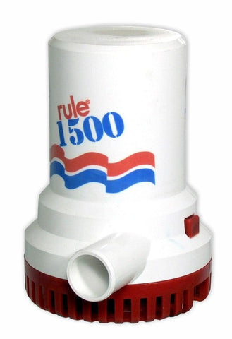 Rule 1500 Submersible Bilge Pump 24v