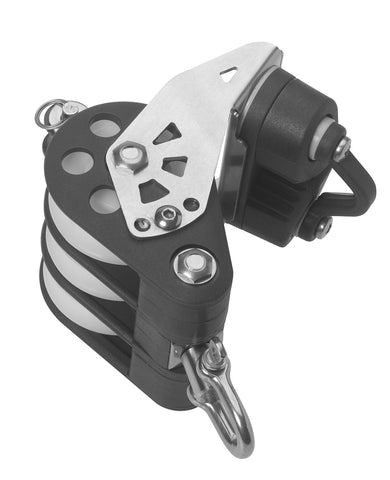 Barton Triple Pulley Block with Swivel & Becket & Cams, Series 5