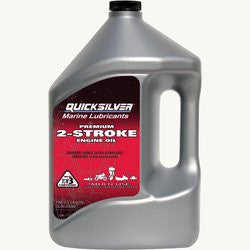Quicksilver Premium 2-Stroke Outboard Oil - whitstable-marine