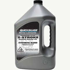 Quicksilver Premium Plus 2-Stroke Outboard Oil - whitstable-marine