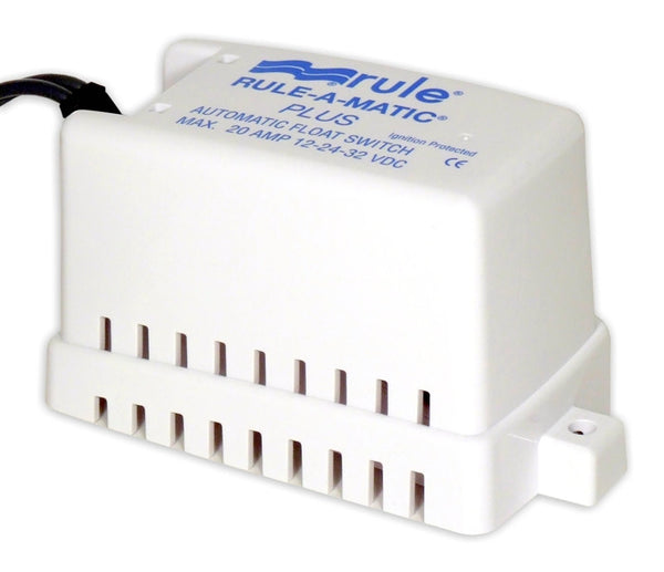 Rule Rule-A-Matic Plus Float Switch 12v-24v-32v
