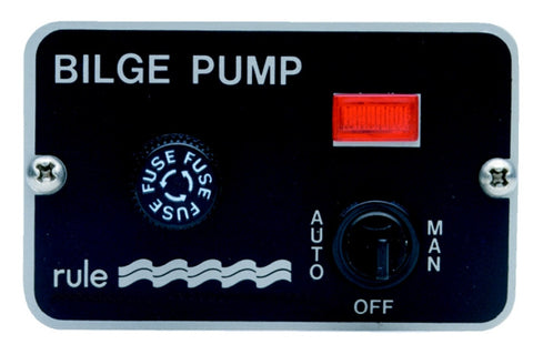 Rule 3-Way Bilge Pump Switch 24v - whitstable-marine