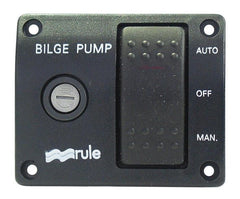 Rule 3-Way Bilge Pump Rocker Switch 24v