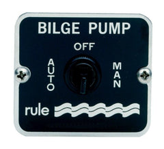 Rule 3-Way Bilge Pump Panel Switch 12v/24v - whitstable-marine