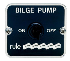 Rule 2-Way Bilge Pump Panel Switch 12v/24v - whitstable-marine