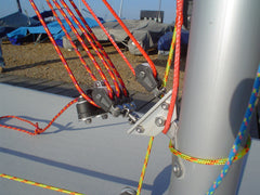Laser 15:1 Kicking Strap Assembly (Barton Replica) - whitstable-marine