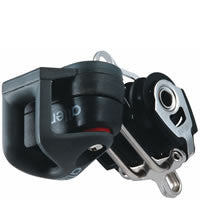 Allen 30mm Dynamic Block: Triple with Cleat & Becket - whitstable-marine