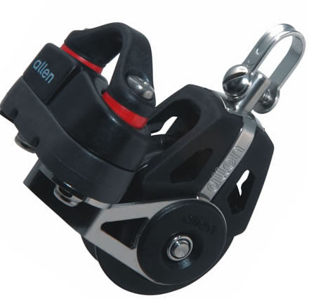 Allen 40mm Dynamic Block: Swivel with A.677 Cam Cleat - whitstable-marine