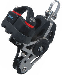 Allen 40mm Dynamic Block: Swivel with 20mm Fiddle Block A.677 & Cam Cleat - whitstable-marine