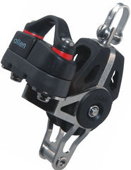 Allen 40mm Dynamic Block: Swivel with Becket & A.677 Cam Cleat - whitstable-marine