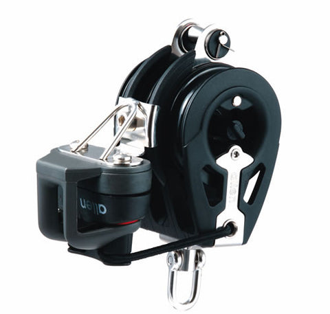 Allen 50mm Dynamic Block: Triple inc. Ratchet & Adjustable Cleat - whitstable-marine