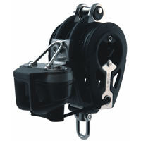 Allen 60mm Dynamic Block: Triple inc. Pro-ratchet & cleat - whitstable-marine