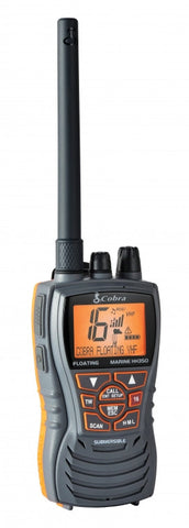 Cobra HH350 Floating Handheld VHF Marine Radio - whitstable-marine