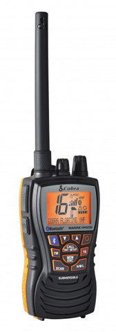 Cobra HH500 Floating Handheld VHF Marine Radio with Bluetooth