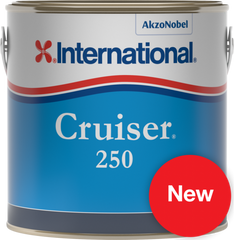 International Cruiser 250 Antifouling - 3 litres - whitstable-marine
