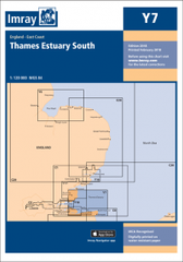 Imray Chart Y7 Thames Estuary South - whitstable-marine