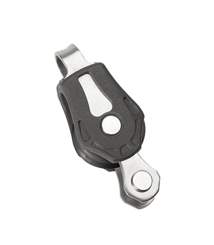 Barton Single Pulley Block with Fixed Eye and Becket, Series 0