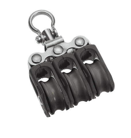 Barton Triple Block with Swivel, Series 0 - whitstable-marine