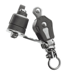 Barton Triple Block with Swivel, Becket and Cam Cleat, Series 0 - whitstable-marine
