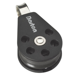 Barton Single Pulley Block with Fixed Eye, Series 1 - whitstable-marine