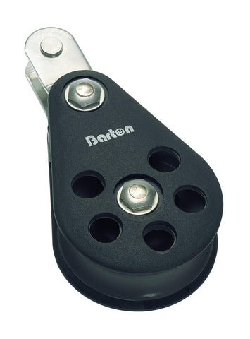 Barton Single Pulley Block with Double Tang, Size 6