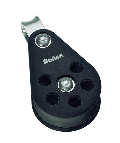 Barton Single Pulley Block with Fixed Eye, Size 7