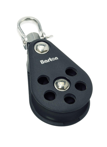 Barton Single Pulley Block with Variloc, Size 7 - whitstable-marine