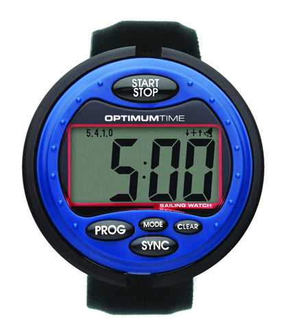 Optimum Time OS 314 Series Jumbo Sailing Watch - Big Blue Watch - whitstable-marine