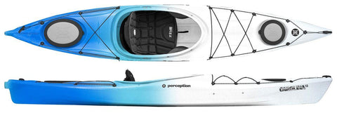 Perception Carolina 12 Kayak with free paddle - whitstable-marine