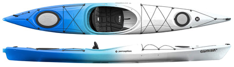 Perception Carolina 14 Kayak with free paddle - whitstable-marine