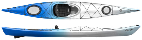Perception Expression 14 Kayak with free paddle