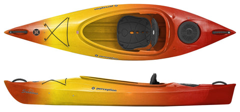 Perception Sundance Kayak with free paddle - whitstable-marine