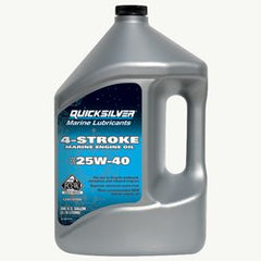 Quicksilver 4 Stroke Marine Oil - 25W40 - whitstable-marine