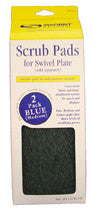 Swobbit Scrub Pads Blue - Medium Grade - whitstable-marine