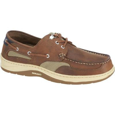 Sebago Clovehitch II Deck Shoe in Walnut - whitstable-marine