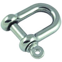 Stainless Steel Dee Shackles - whitstable-marine