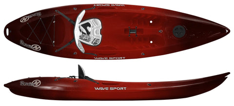 Perception Scooter Kayak - Wavesport Kayak