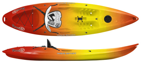 Wave Sport Scooter Sit-on Top Kayak with free paddle - whitstable-marine