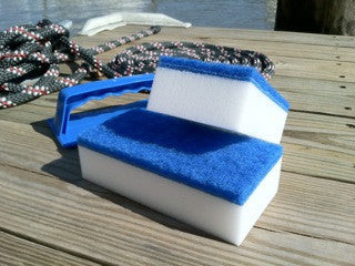 Swobbit Wipeout Eraser Handle complete with Two Pads - whitstable-marine