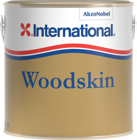 International Woodskin Natural Teak Yacht Varnish 750ml