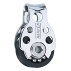 Harken 16mm Triple Pulley Block with Becket - 409