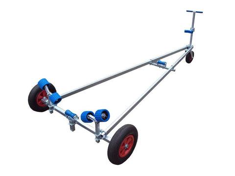 Extreme Trailers Deluxe Dinghy Launcher Trolley - whitstable-marine