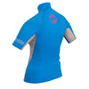Image of Gul Swami Ladies Short Sleeve Rashvest - whitstable-marine