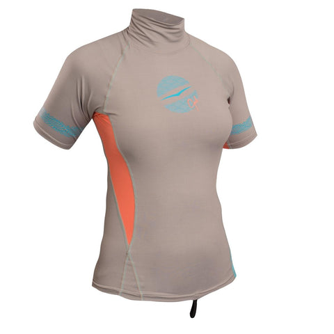 Gul Swami Ladies Short Sleeve Rashvest - whitstable-marine