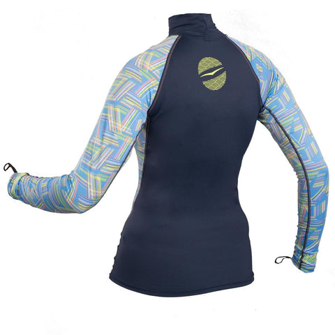 Gul Swami Ladies Long Sleeve Rashvest - whitstable-marine