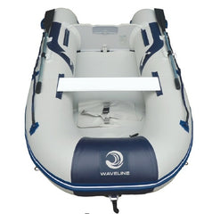 Waveline 2.90m V Hull Airdeck Inflatable Boat with Solid Transom - whitstable-marine