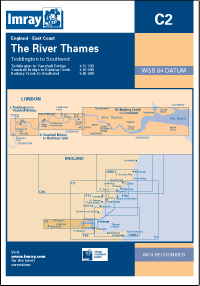 Imray C2 The River Thames - Teddington to Southend - whitstable-marine