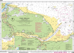 Imray Chart Y14 The Swale