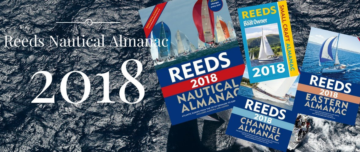 Reeds Almanac 2017 available at Whitstable Marine