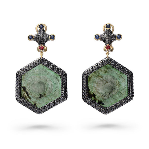 Knights Templar Earrings